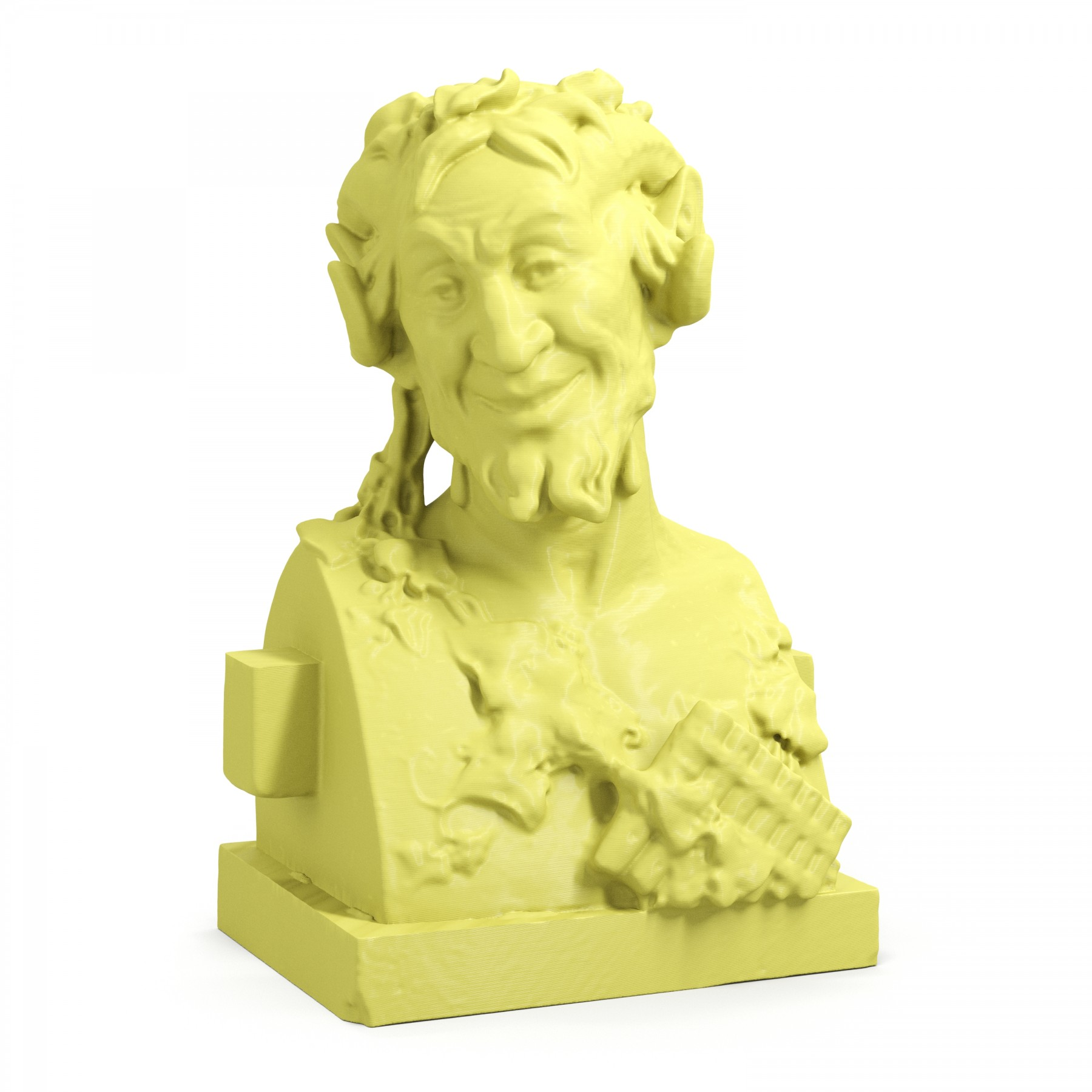 3D Printed Bust of Pan Busts Art Clone Statue - ARTFICIAL.COM