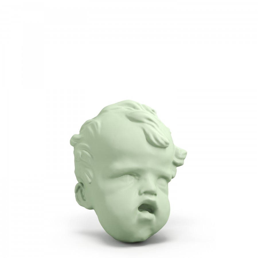 """Cherub's Head"" by Giacomo Serpotta from the Assemblea Regionale Siciliana collection 